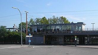 Rødovre station - Image: Rødovre Station structure
