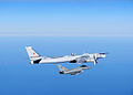 RAF QRA Typhoon Intercepting Russian Bear Aircraft MOD 45158139.jpg