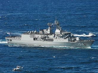 HMAS Parramatta (FFH 154) - HMAS Parramatta in 2013