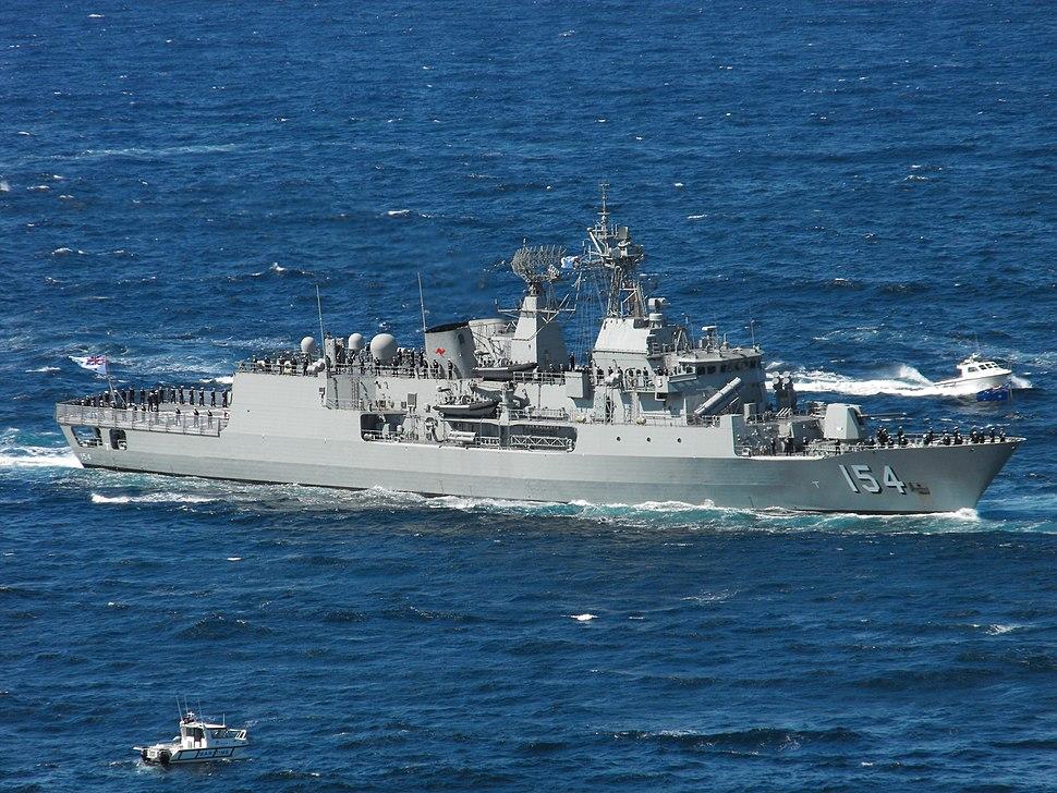 HMAS Parramatta in 2013