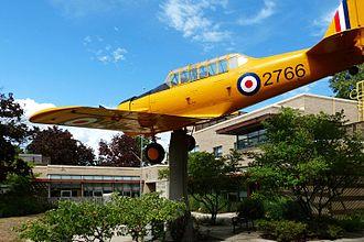 Dunnville, Ontario - RCAF Memorial, Dunnville Public Library