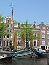 foto van Dubbel huis met gevel in drie vensterassen
