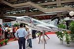 ROCAF Mirage 2000-5EI Model Display at MND Hall 20150815a.jpg