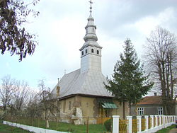 Wooden Church in Tăut, historic monument