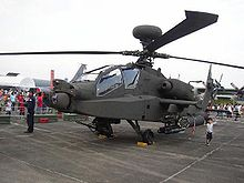 The Boeing AH-64 Apache