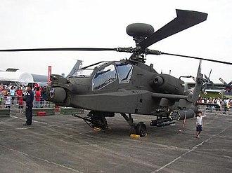 120 Squadron, Republic of Singapore Air Force - Image: RSAF AH 64D Longbow Apache
