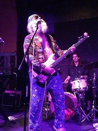 R. Stevie Moore - Moore performing in New York in 2013.