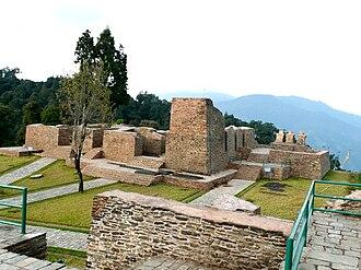 West Sikkim district - Rabdentse Palace