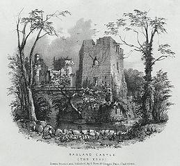 Ragland Castle. The Keep
