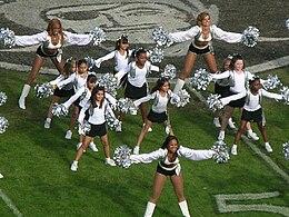 Raiderettes u0026 Jr. Raiderettes at Falcons at Raiders 2008-11-02 2. & Oakland Raiderettes - Wikipedia