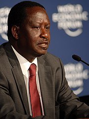 Raila Odinga, 2009 World Economic Forum on Africa-1