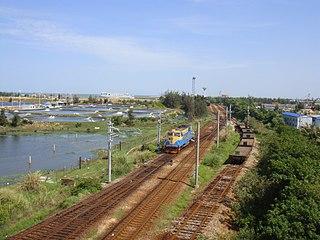 Guangdong–Hainan railway