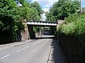 Railway bridge on Station Road - geograph.org.uk - 828524.jpg