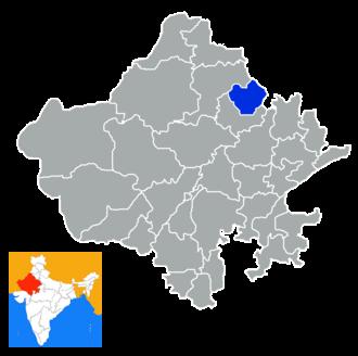 Jhunjhunu district - Image: Rajastan Jhunjhunur district