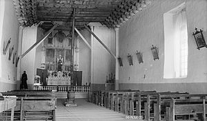 San Francisco de Asis Mission Church - Image: Rancho de Taos church 4