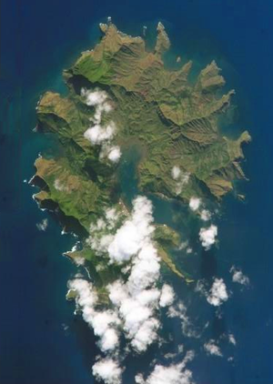 Rapa Iti - NASA picture of Rapa