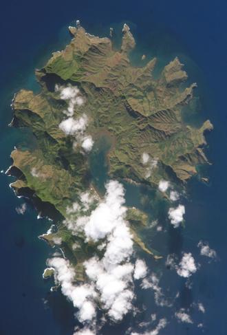 Rapa Iti - NASA picture of Rapa