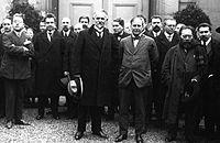 Раковский и Леонид Красин в Париже 1924 год.