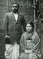 Rash Behari Bose and his wife Toshiko.jpg