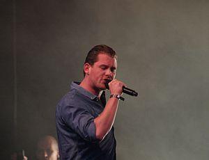 Rasmus Seebach - Rasmus Seebach during a live concert