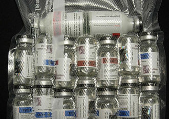Anabolic steroid - Numerous vials of injectable AAS
