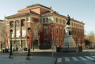 Royal Spanish Academy - Image: Real Academia de la Lengua Española Madrid (5460041742)