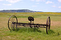 Rear view of an old dump hay rake.jpg