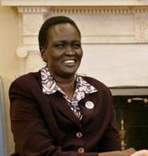 Rebecca Nyandeng De Mabior - Image: Rebecca Nyandeng De Mabior February 10, 2006