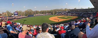 Swayze Field - Ole Miss Baseball vs. Arkansas on March 31,2018.