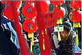 Red Lanterns herald New Year Celebrations, Year of the Monkey, 2004.jpg