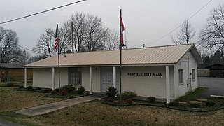 Redfield, Arkansas City in Arkansas, United States