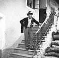 Regrut Darko Šimonov na dan štelenge, Log pod Mangartom 1952 (2).jpg