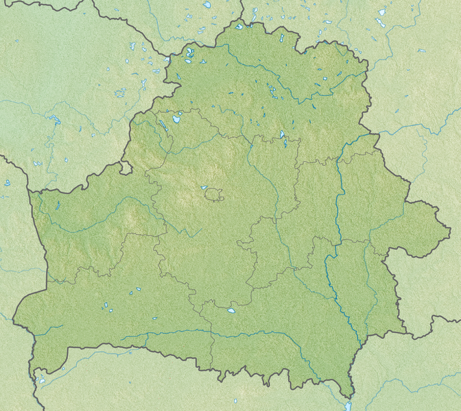 Файл:Relief Map of Belarus.png