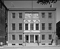 Rembrandt Peale Museum, 225 North Holliday Street (Baltimore, Independent City, Maryland).jpg