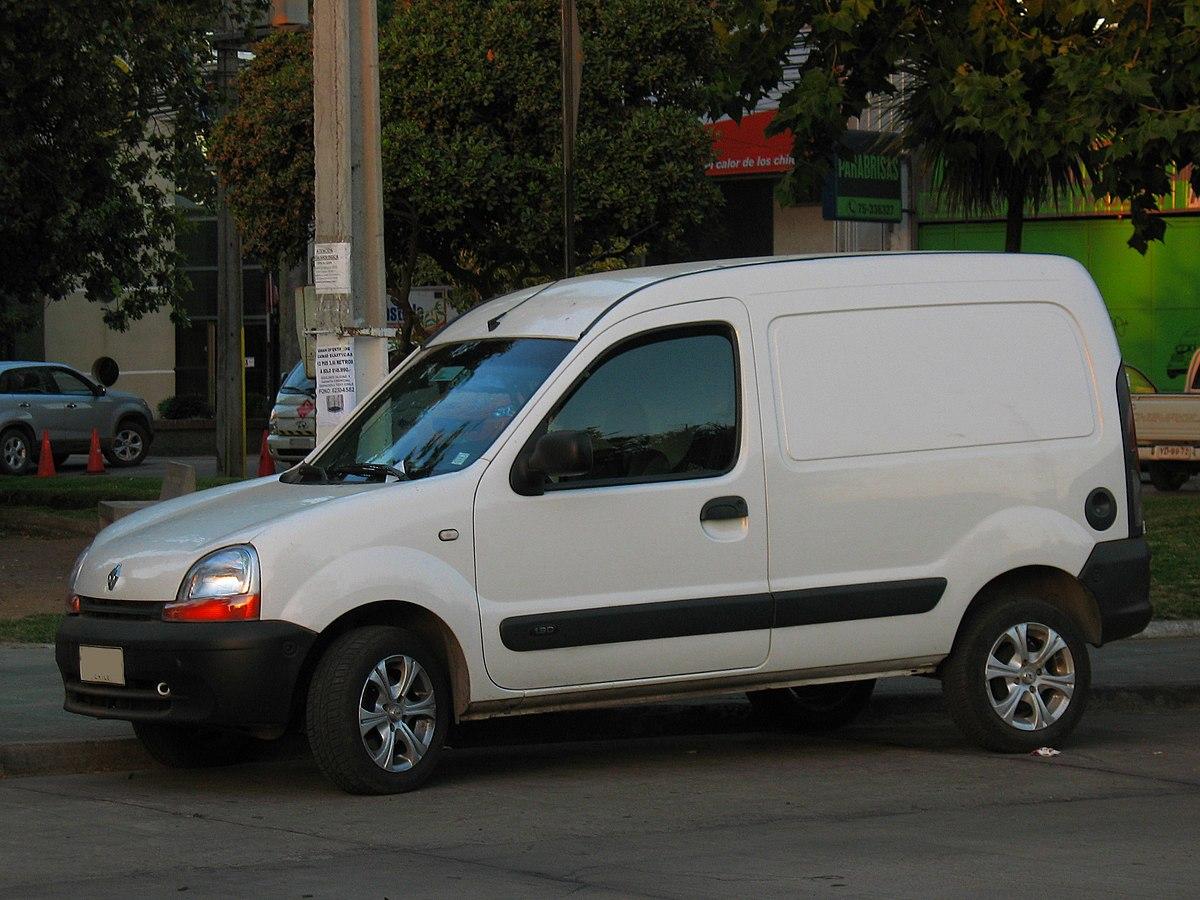 Renault kangoo i wikip dia for Dimension interieur kangoo utilitaire