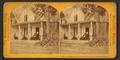 Residence of Prof. & Mrs. H.B. Stowe, with family group, from Robert N. Dennis collection of stereoscopic views.png