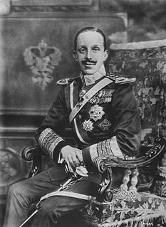 Alfonso XIII King of Spain (1886-1941) (ruled 1886-1931)