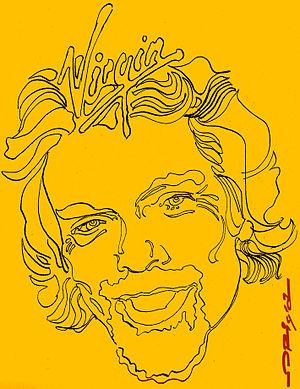 Richard Branson, Virgin Icona, portrait by ita...