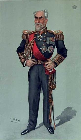 Richard Meade, 4th Earl of Clanwilliam - A Vanity Fair caricature showing the Earl of Clanwilliam