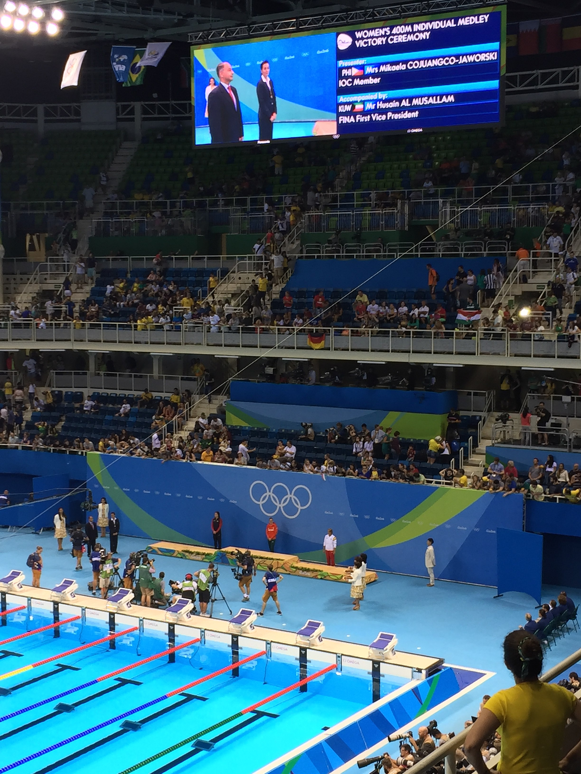 filerio 2016 olympics swimming 6 august evening session 29069205342jpg - Olympic Swimming Pool 2016