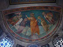 Ripa - san Giorgio al Velabro affresco abside 1010867