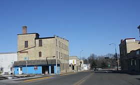 Ripon Wisconsin Downtown Looking North WIS23 WIS44.jpg