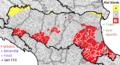 Risć Sìśmic in Emìglia Rumàgna.png