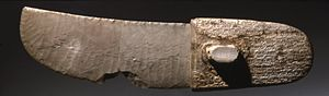 Gebel el-Arak Knife - The ritual knife, dating to Naqada III period, now on display at the Brooklyn Museum.