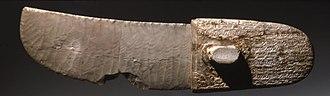 Gebel el-Arak Knife - The ritual knife, dating to Naqada III period, now on display at the Brooklyn Museum.