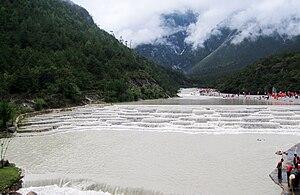 Baishui River - The Baishui River, in the Jade Dragon Snow Mountains, Yunnan province, China.