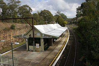 Glenbrook, New South Wales - Glenbrook railway station