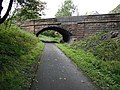 Road bridge, Caledonian and Dunbartonshire Junction Railway - geograph.org.uk - 1479072.jpg