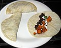 Roasted sweet potato + black bean tacos (7784822910).jpg