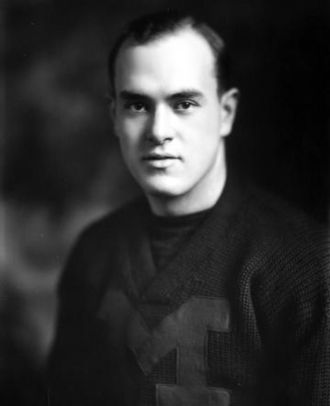 1921 Michigan Wolverines football team - 1921 team captain Duke Dunne